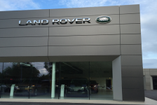 retail and leisure project for Land Rover