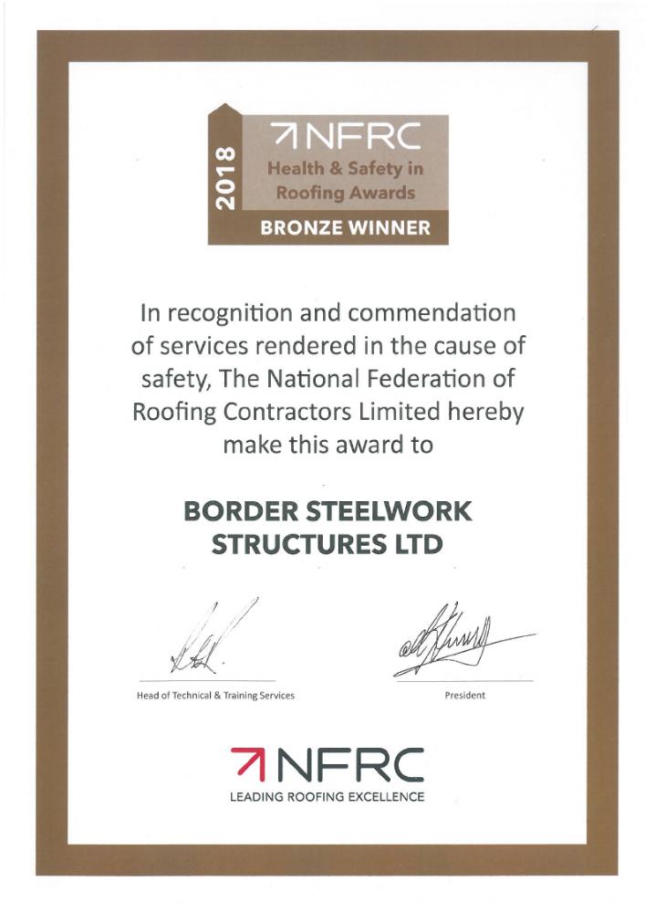 NFRC Bronze Winner 2018